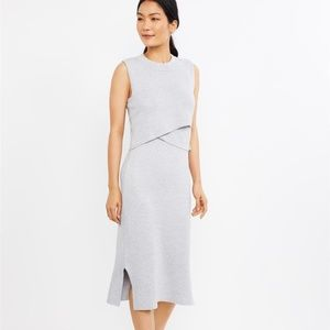 Ripe Lift Up Slim Fit Knit Nursing Dress / S